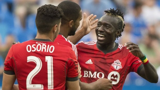 Toronto FC is seven points back of Kansas City with two games in hand.