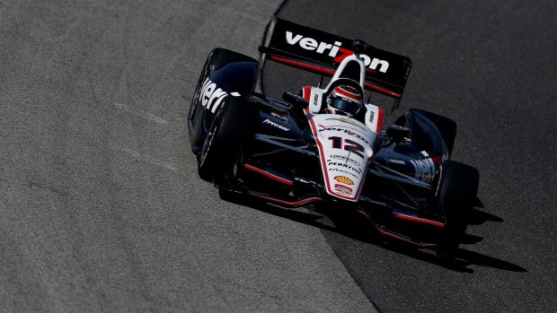 Will Power of Australia earns the pole position at the Milwaukee Mile on Saturday in West Allis, Wisconsin.