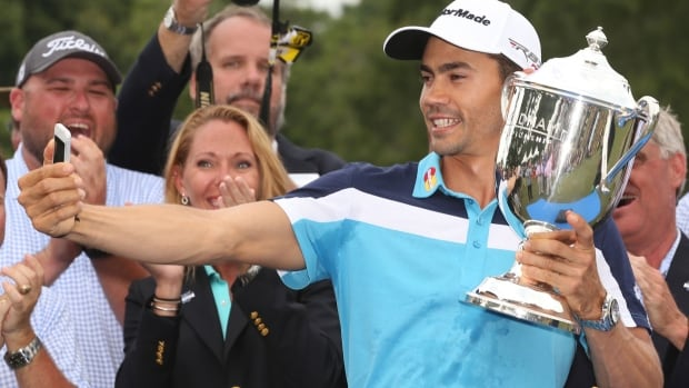 Camilo Villegas shot a 63 in his final round to win the Wyndham Championship in Greensboro, N.C.