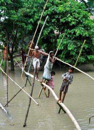 India Nepal Flooding
