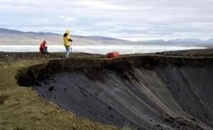 Rebecca Ghent Ellesmere Island permafrost sinkhole