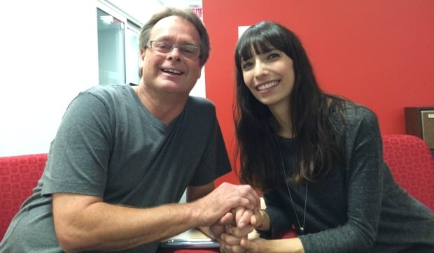 Marc and Jodie Emery at CBC Vancouver