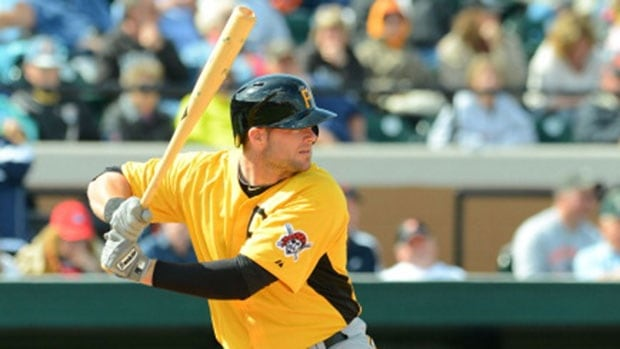 First baseman Matt Hague has spent the majority of the season with triple-A Indianapolis, batting .267 with 14 home runs and 67 runs batted in 93 games and earning an International League all-star selection.