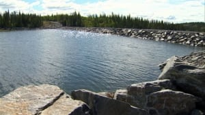 Bluefish hydro dam NWT