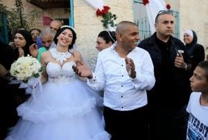 MIDEAST-ISRAEL-Muslim-Gaza-wedding