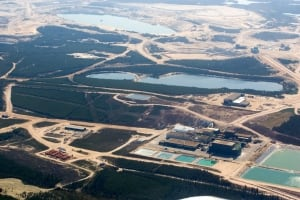 Uranium mine Key Lake Cameco