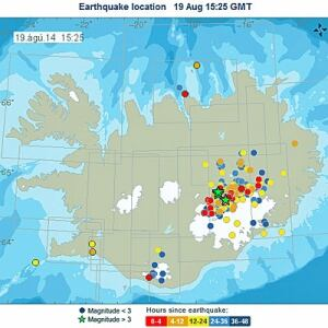 Iceland earthquake Bardarbunga