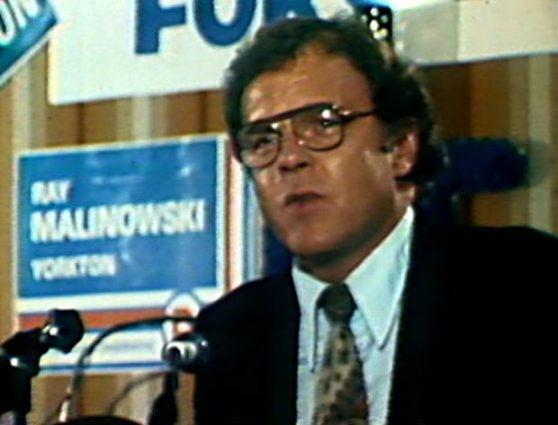 Dick Collver, PC party leader, 1978