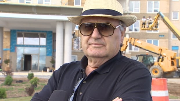 Halifax developer Peter Giannoulis says Halifax Water is difficult to deal with.