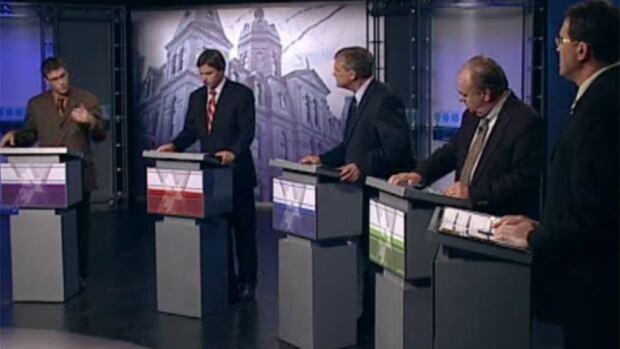 CBC's 2010 New Brunswick election debate