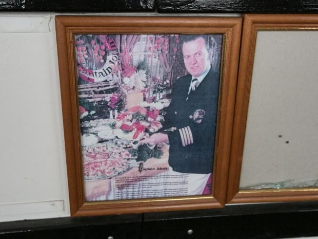 John Letnik seen in picture on board Captain John's Harbour Boat Restaurant