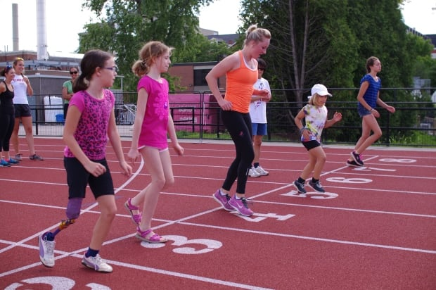 Leah Robinson paralympian para-athletics