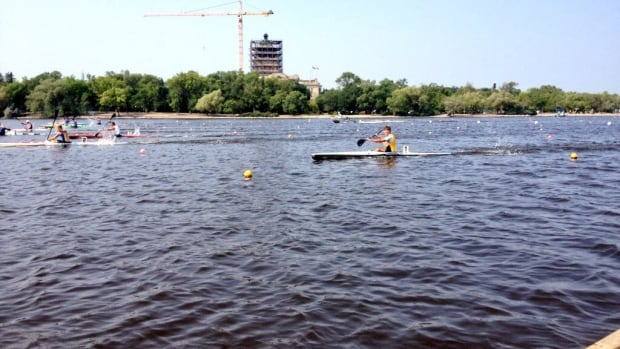 More than 800 people are competing in the Canadian Sprint CanoeKayak Championships in Regina.