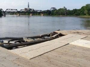 Alexander Docks damage
