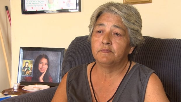 Thelma Favel, the great-aunt of Tina Fontaine, has mixed feelings about MMIW National Inquiry as pre-inquiry meeting is held in Winnipeg.