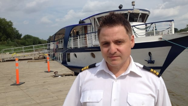 MS River Rouge owner Kyriakos Vogiatzakis says the City of Winnipeg has given him three weeks to move his boat from the Alexander Street dock, which is in need of an inspection and possibly repairs.