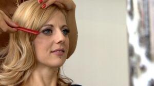 Megan at salon