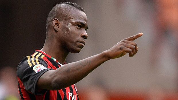 Mario Balotelli had a tumultuous stint in the English Premier League with Manchester City before leaving for AC Milan.
