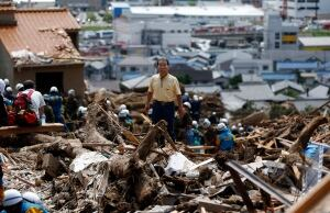 Japan landslide Aug.21