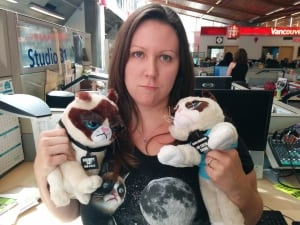 Grumpy Cat Superfan Andrea Ford