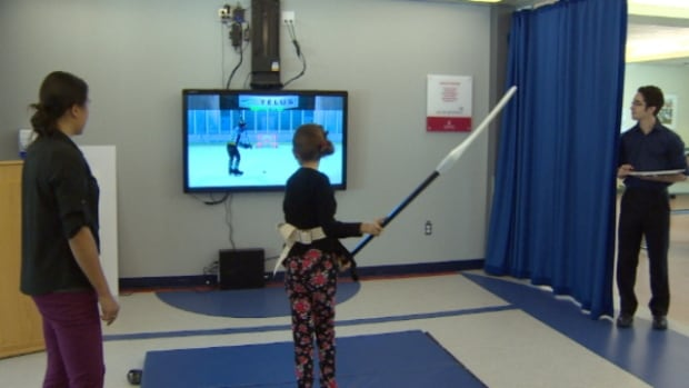 Bryanna Forest, 10, is recovering from a serious brain injury by playing a digital version of her favourite sport.