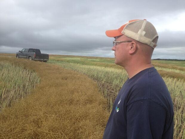 Ron Krahn, Manitoba farmer