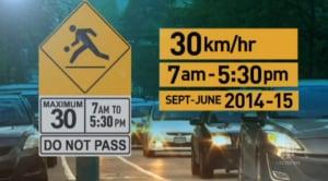 Winnipeg school zone speed limits