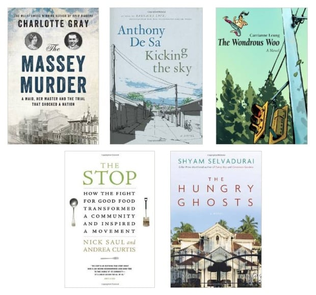 Finalists for the book awards