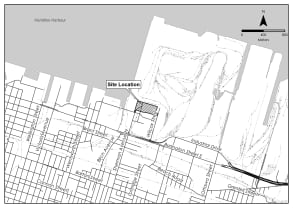 Site for proposed waste-to-energy gasification plant