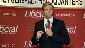 Liberal Leader Brian Gallant