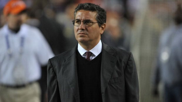 Washington owner Dan Snyder has vowed to never change the team's name, saying it honours Native Americans.
