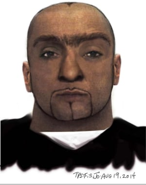 Lakeshore/Strachan sexual assault suspect composite