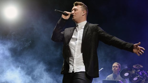Singer Sam Smith performs at the 2014 Coachella Valley Music & Arts Festival in California. He recently settled a copyright dispute with Tom Petty.