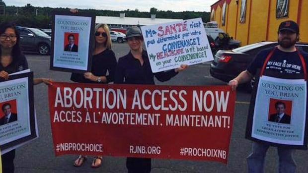 Three pro-choice organizations are merging to increase their effectiveness. They say the lack of abortion access in Canada remains a concern, something raised by protesters in Fredericton during the New Brunswick election.