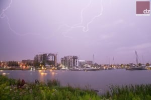 Lightning over Thunder Bay