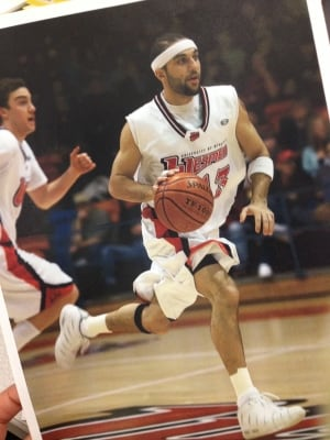 Erfan Nasajpour, Winnipeg basketball player