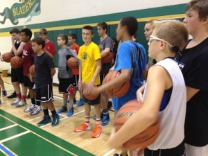 Basketball Manitoba high performance camp