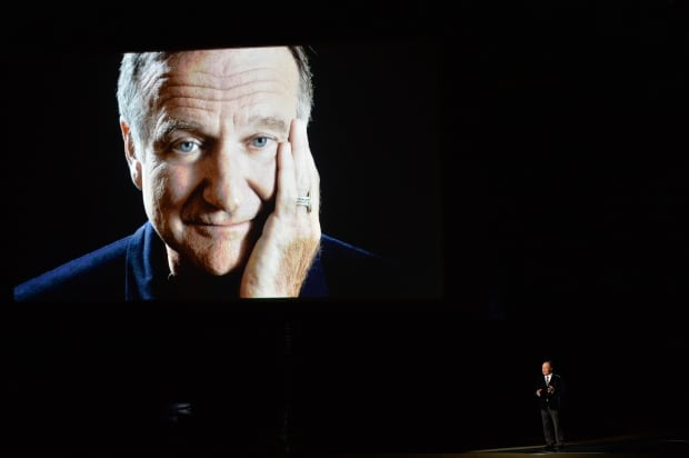 2014 Emmy Awards Billy Crystal Robin Williams tribute