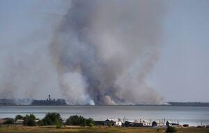 Novoazovsk, Ukraine shelling