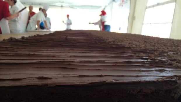 While it's 16 times larger than the official world's largest brownie, McGill's creation won't take the title.