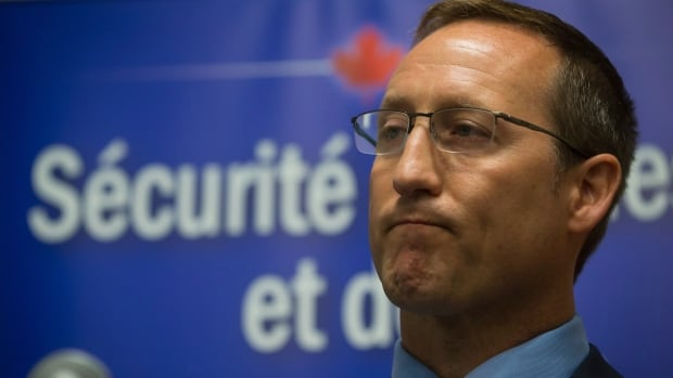 "Justice Minister Peter Mackay speaks to the media before a justice roundtable in Vancouver earlier this month. MacKay's office said the roundtables brought together justice ""stakeholders,"" but that appears not to include those most affected by his latest legislation to rewrite Canada's prostitution laws."