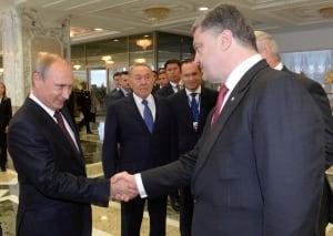 Putin-Poroshenko-Belarus