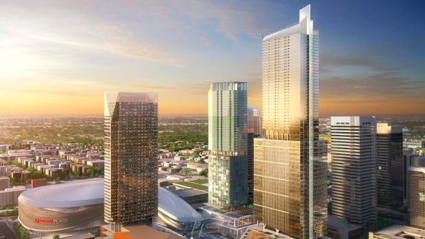 The new 62-storey tower is expected to be completed in the summer of 2018.