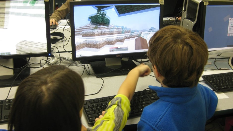 Children play the computer game Minecraft. Should there be a Canadian way for children to get kid-friendly news on their computers or TVs too?