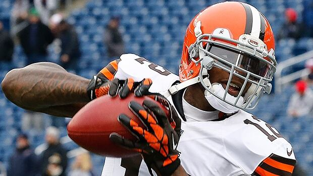 Josh Gordon of the Cleveland Browns was suspended Wednesday for one year for violating the NFL substance abuse policy.