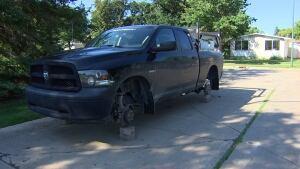 Scott Benson stolen tires truck