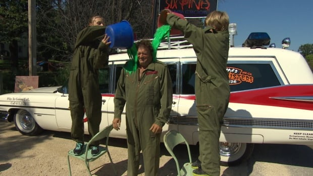 Six Pines owner James Thevenot Ghostbusters ALS challenge