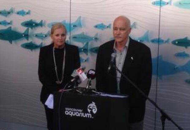 Vancouver Aquarium's John Nightingale