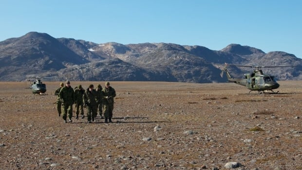 The Canadian military has 800 personnel on Baffin Island for the annual Operation Nanook military exercise.