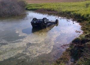 fatal crash into slough